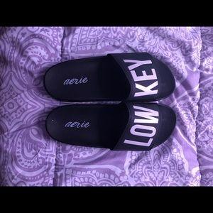 Gray Women's Slides